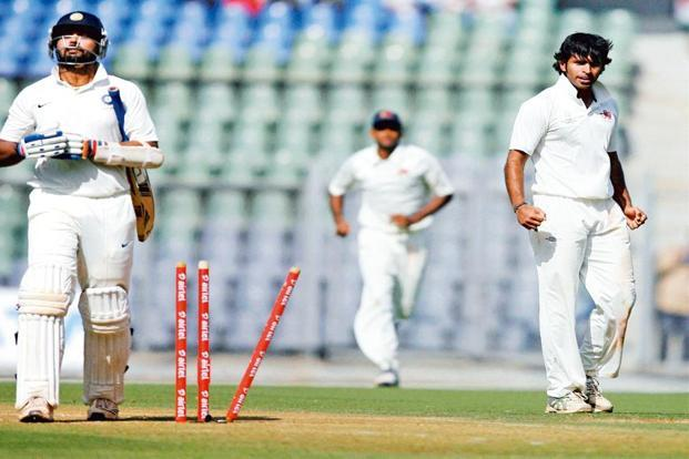 Abhishek Nayar (far right) believes that he is peaking as a cricketer. Photo: Santosh Hirlekar/PTI